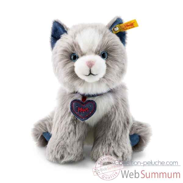 Peluche chat paws steiff -084430