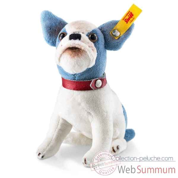 Peluche chien bouledogue bully steiff -031441