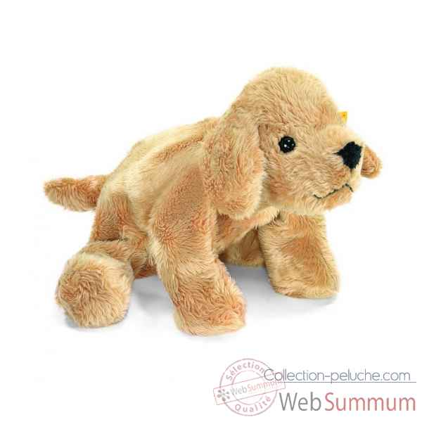 Peluche steiff floppy miniature de steiff golden retriever chiot lumpi, bei -281358