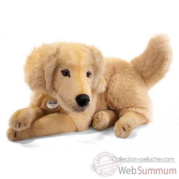 Peluche steiff golden retriever lumpi, blond -079795