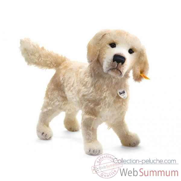 Peluche steiff golden retriever rico, creme -035043
