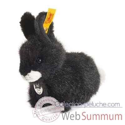 peluche steiff lapin hoppel noir dans peluche animaux de la ferme steiff de steiff. Black Bedroom Furniture Sets. Home Design Ideas