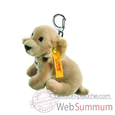 Peluche steiff porte-cles golden retriever, blond -112096