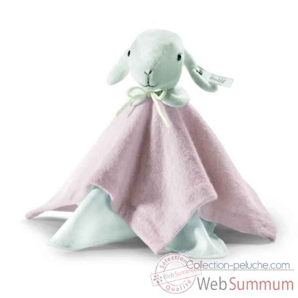 Peluche steiff selection agneau doudou, rose -239069