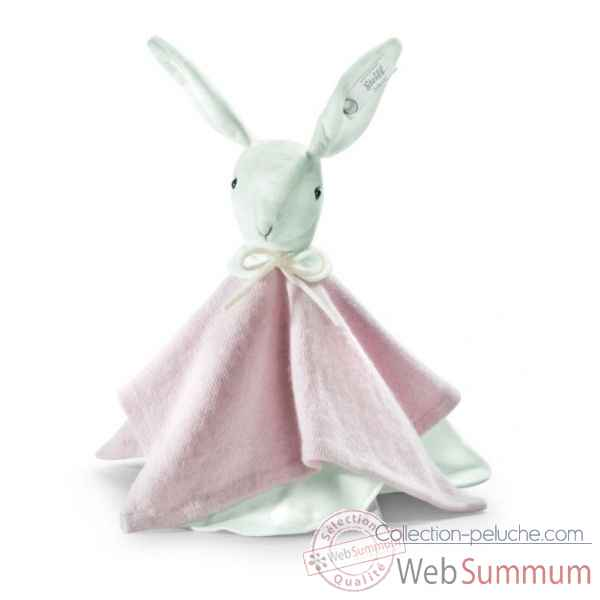 Peluche steiff selection lapin doudou, rose -239267