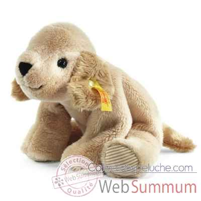Petit floppy de steiff golden retriever lumpi, beige -281105
