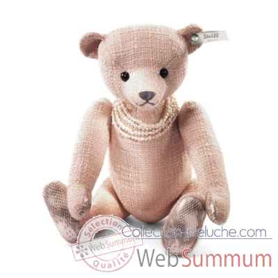 Selection ours teddy amelia paradis, rose/abricot STEIFF -034886