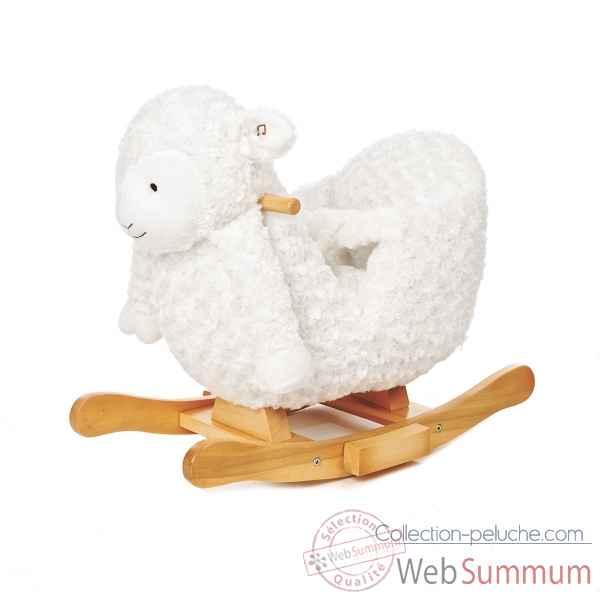 Mouton à bascule pour bébé avec musique Teddykompaniet