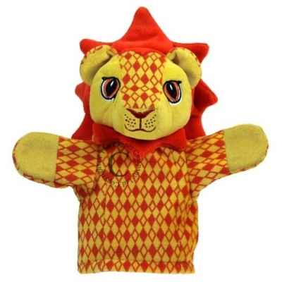 Marionnette a main Lion couleur the puppet company -pc009610