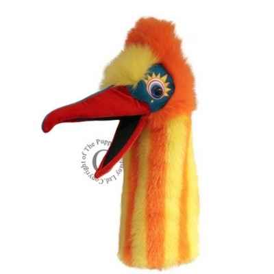 Oiseau muddle orange jaune the puppet company -pc006306