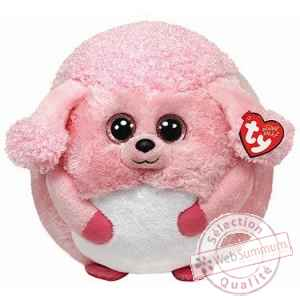 Peluche Beanie ballz 33 cm - lovey le caniche Ty -TY38928