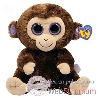 Peluche Beanie boo\\\'s 41 cm - coconut le singe Ty -TY36800