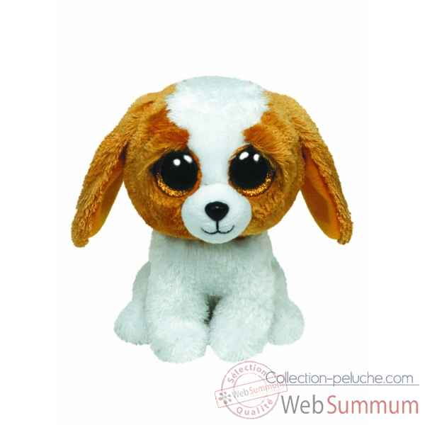 Peluche Beanie boo\'s 41 cm - cookie le chien Ty -TY36802