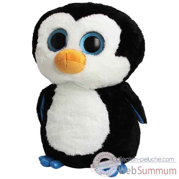 Peluche Beanie boo\'s 41 cm - wadles le pingouin Ty -TY36803