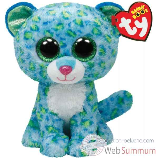 Peluche Beanie boo\'s large - leona le leopard Ty -TY36817