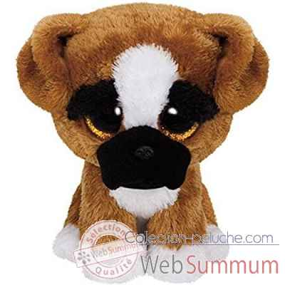 Peluche Beanie boo\'s medium - brutus le boxer Ty -TY37053