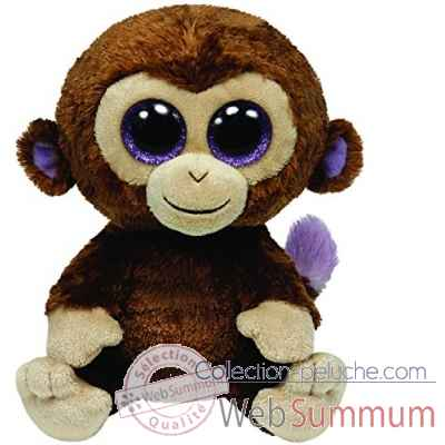 Peluche Beanie boo\'s medium - coconut le singe Ty -TY36901