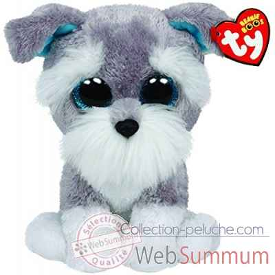 Peluche Beanie boo\'s medium - whiskers le chien Ty -TY37037