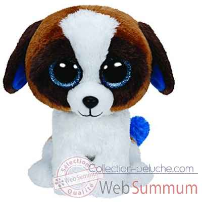Peluche Beanie boo\'s small - duke le chien Ty -TY36125