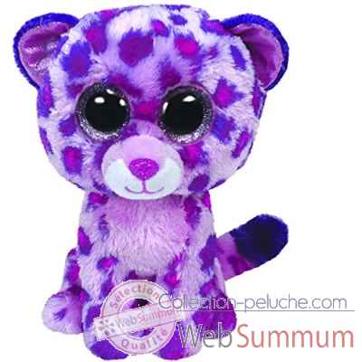 Peluche Beanie boo\'s small - glamour leopard rose Ty -TY36085