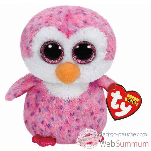 Peluche Beanie boo\'s small - glider le pingouin Ty -TY36177