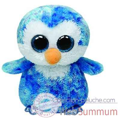 Peluche Beanie boo\\\'s small - ice cube le pingouin Ty -TY36741