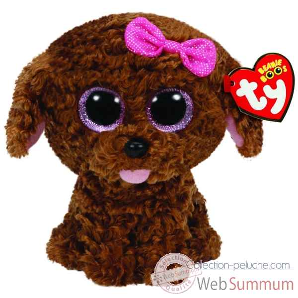 Peluche Beanie boo\'s small - maddie le chien Ty -TY36157
