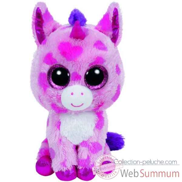 peluche beanie boo 39 s small sugar pie la licorne ty ty36175 dans peluche ty. Black Bedroom Furniture Sets. Home Design Ideas