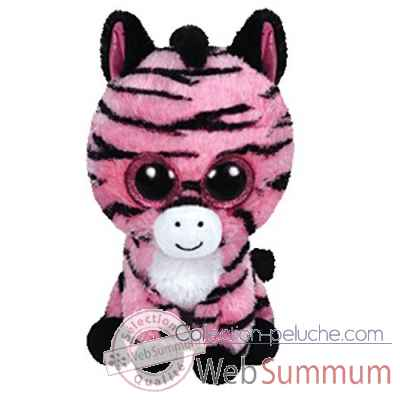 Peluche Beanie boo\'s small - zoey le zebre Ty -TY36147