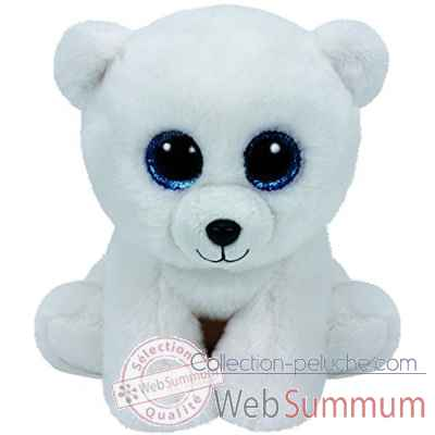 Peluche Beanies small - arctic l\'ours polaire Ty -TY42108