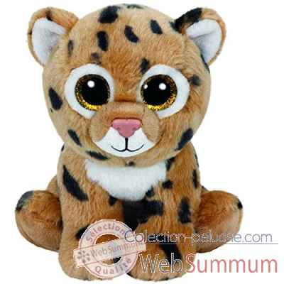 Peluche Beanies small - freckles le leopard Ty -TY42120