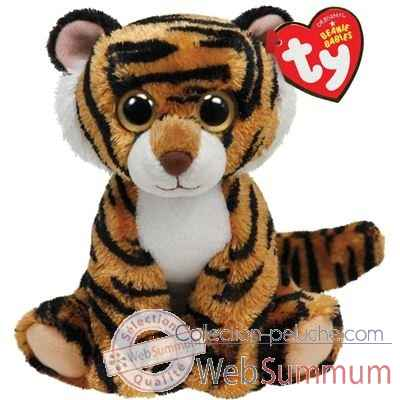Peluche Beanies small - stripers le tigre Ty -TY42055