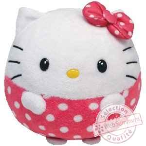 Peluche Hello kitty - beanie ballz - 33 cm -TY38930