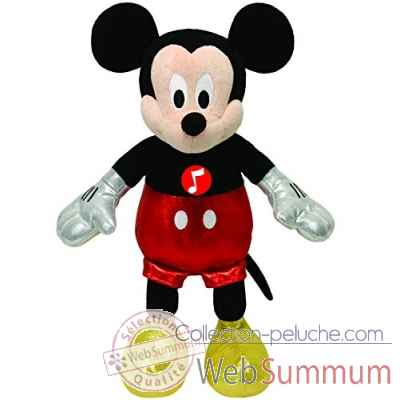 Peluche Mickey classic small musical - mickey Ty -TY41072