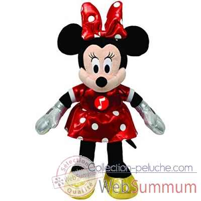 Peluche Mickey classic small musical - minnie Ty -TY41071