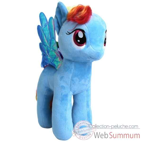 Peluche Mon petit poney large - rainbow dash Ty -TY90211