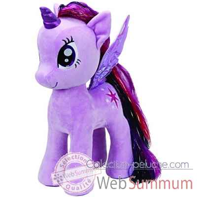 Peluche Mon petit poney large - twilight sparkle Ty -TY90210