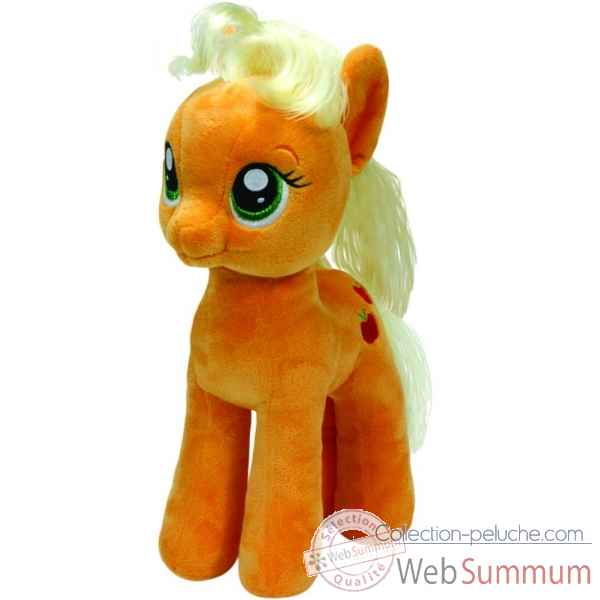 Peluche Mon petit poney medium - apple jack Ty -TY41076