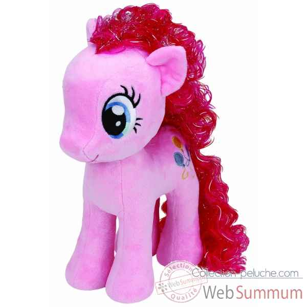 Peluche Mon petit poney medium - pinkie pie Ty -TY90200