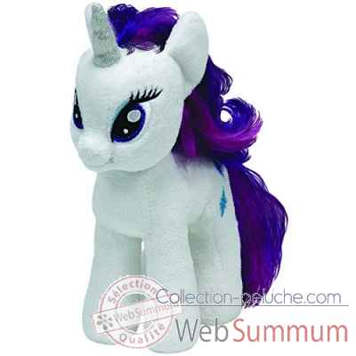 Peluche Mon petit poney medium - rarity -TY41075