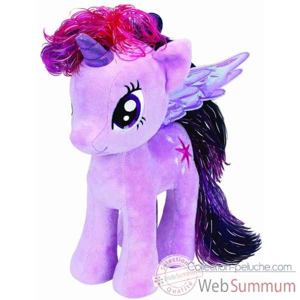 Peluche Mon petit poney medium - twilight sparkle Ty -TY90204