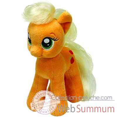 Peluche Mon petit poney small - apple jack Ty -TY41013