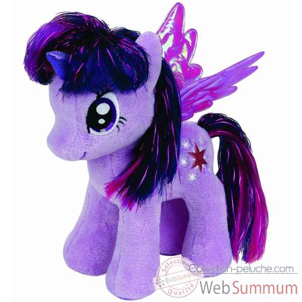 Peluche Mon petit poney small - twilight sparkle Ty -TY41004