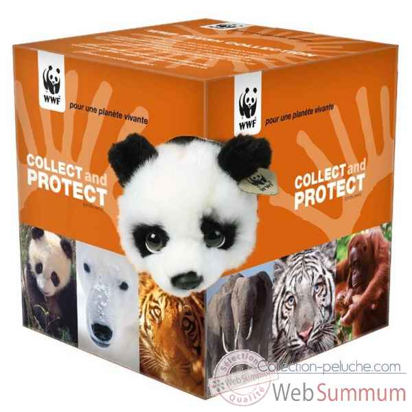 Assortiment de 6 peluches collect & protect WWF -15 212 014