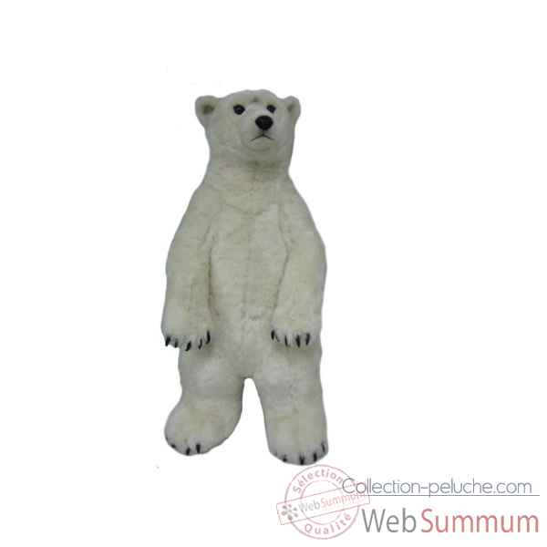Geant wwf ours polaire debout 100 cm * -23 187 006