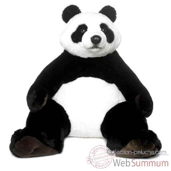 geant wwf panda assis 100 cm 23 183 001 photos collection peluche de wwf. Black Bedroom Furniture Sets. Home Design Ideas
