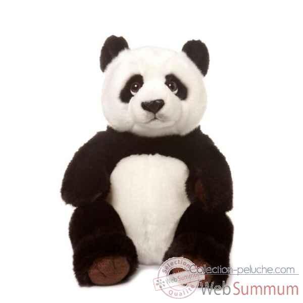 wwf panda assis 32 cm 15 183 001 de wwf dans peluche g ante sur collection peluche. Black Bedroom Furniture Sets. Home Design Ideas